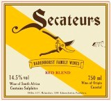 Badenhorst Secateurs Red Blend 2010