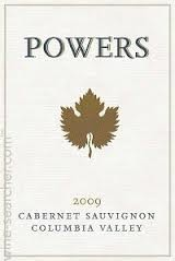 Powers Cabernet Sauvignon Columbia Valley 2010