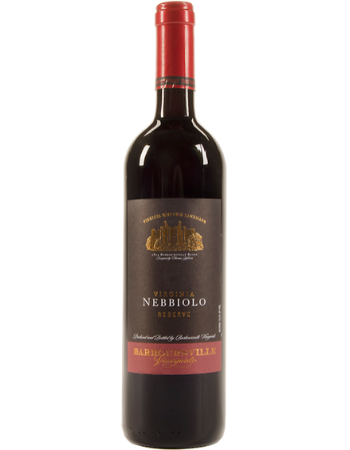 Barboursville Vineyards Nebbiolo Reserve Monticello 2015