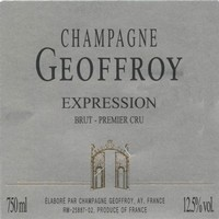 Champagne R. Geoffroy Champagne Brut Expression