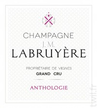 Champagne Labruyere Anthologie Rose