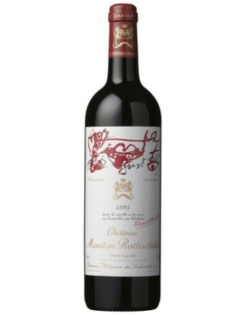 Chateau Mouton-Rothschild Pauillac 1995