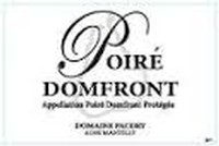 Domaine Pacory Poire Domfront 2012