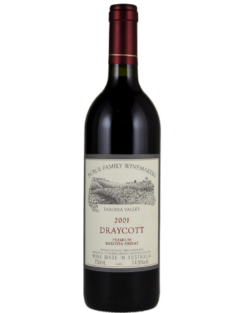 Burge Family Shiraz Draycott Barossa Valley 2001
