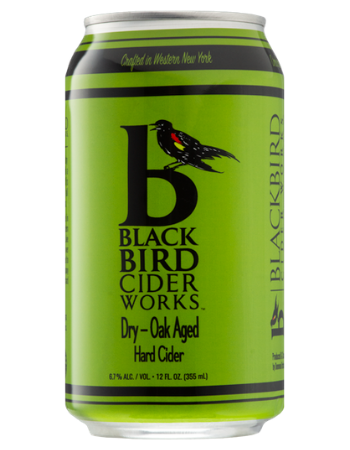 BlackBird Cider Works Dry Oak-Aged Hard Cider (can)