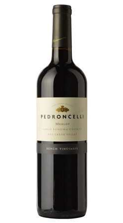 Pedroncelli Merlot Bench Vineyards Dry Creek Valley 2017