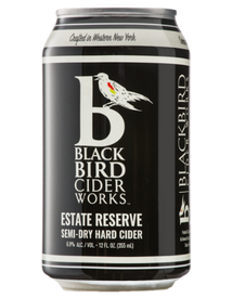 BlackBird Cider Works Estate Reserve Semi-Dry Hard Cider (can)