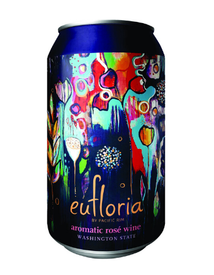 Pacific Rim Eufloria Aromatic Rose 375ml Can